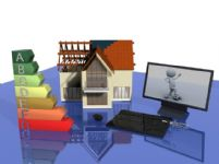 桌面场景设计3D模型