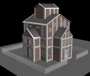 别墅,房子,房屋3D模型