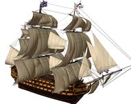 古代海军舰艇,军舰精细模型