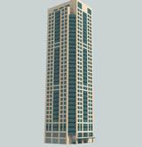 杭州泛海国际中心,写字楼3D模型