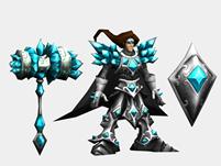LOL英雄联盟宝石骑士Taric,塔里克3D模型