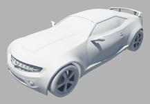 原创汽车,跑车3D模型