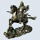 关羽雕塑,关于铜像3D模型