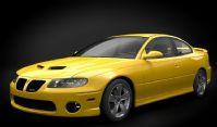 庞蒂亚克GTO跑车,汽车3D模型