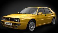 蓝西亚汽车,LANCIA汽车3D模型