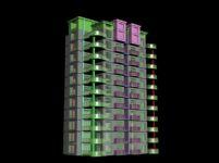 住宅楼,居民楼3D模型