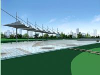 现代公园,广场场景3D模型