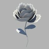 玫瑰花maya模型