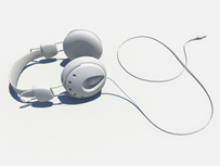 耳机,耳麦maya模型
