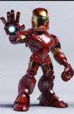 婴儿版钢铁侠maya模型