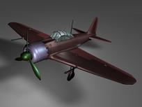 飞机,二战飞机maya模型