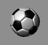 足球maya模型