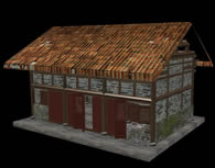 老房子,民房,房屋3D模型(材质贴图全)