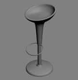 吧椅,椅子3D模型