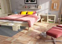 现代卧室3D模型