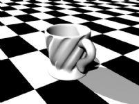 水杯3D模型