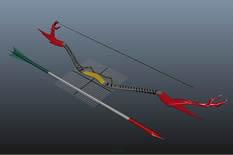 鹰弓3D模型