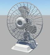 风扇,电风扇3D模型