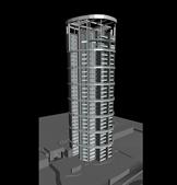 大厦,大楼3D模型