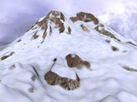 雪山,山体,山坡,自然场景3D模型