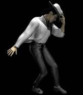 MJ,迈克尔杰克逊经典动作造型3D模型
