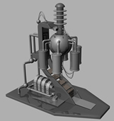 红警发电站3D模型