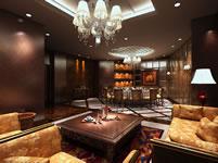 欧式奢华客厅3D模型