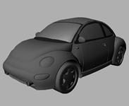 甲壳虫汽车Maya模型