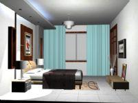 主卧,卧室3D模型