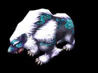 诛仙2中的召唤神兽邙山熊3D模型