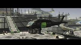 未来太空城市场景3D模型