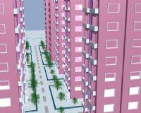 楼房,小区建筑3D模型