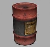 油桶3D模型