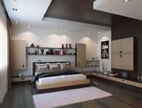 房间,卧室,3D室内模型