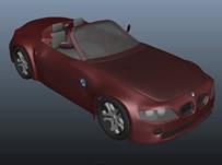 宝马Z4汽车3D模型