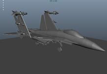 歼15舰载机,战斗机,飞机3D模型