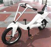 概念电动自行车3D模型