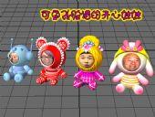 开心娃娃,布娃娃,玩偶3D模型
