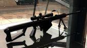 巴雷特狙击枪,枪械maya模型