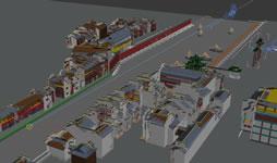 南京夫子庙部分场景3D模型