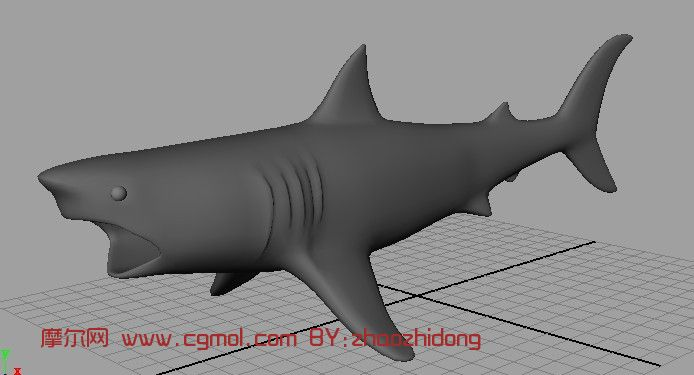 简单的maya模型图片_小制作大全