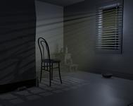 房间的一个角落,maya场景模型