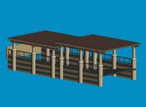 车库3D模型