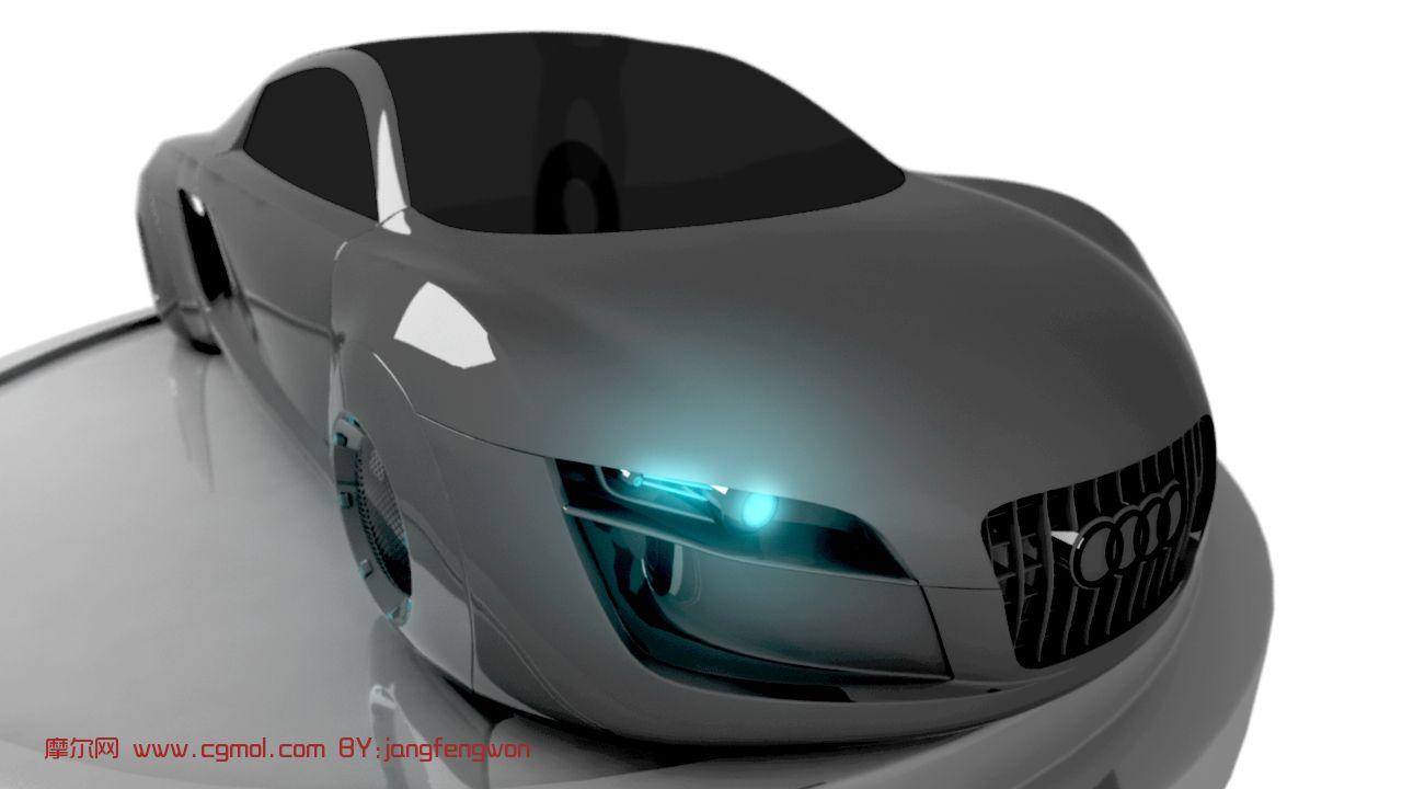 奥迪概念汽车maya模型