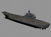 库兹涅佐夫航母,航空母舰3D模型