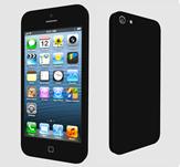 iPhone5,苹果手机3D模型
