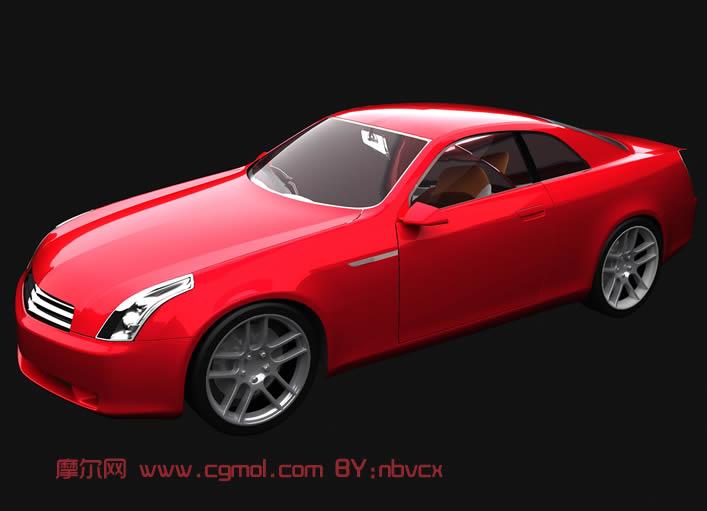 小汽车3d模型,汽车,运输模型