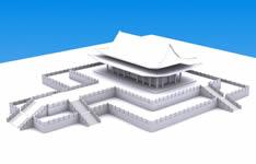 故宫场景建筑3D模型