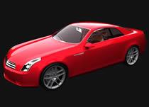 小汽车3D模型