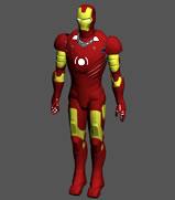 钢铁侠mak2 精模,钢铁侠3D模型